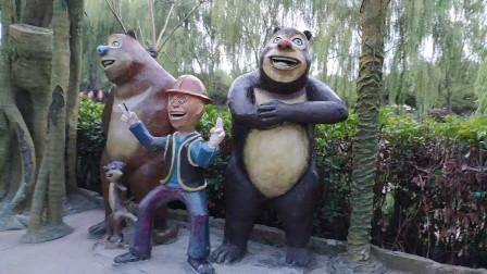 济宁万象城自驾游玩,吉象王国里的魔幻森林有什么