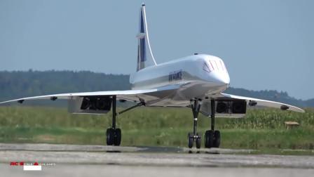 10米巨型协和涡喷模型飞机首航