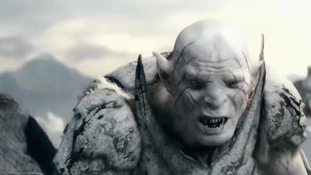 霍比特人3五军之战:矮人王子大战怪物,冰地上生搏,场面无比的震撼