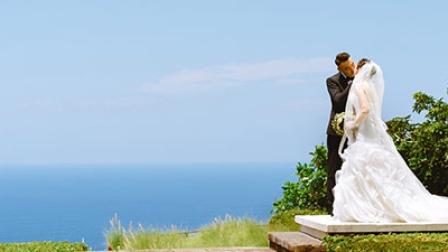 巴厘岛水之教堂婚礼(陈先生和谢女士)_蜜月时光海外婚礼出品