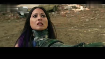 X战警:瑞雯易容,卧底骗过天启,一刀砍向天启脖子