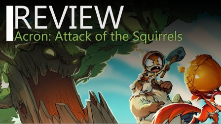 VR游戏《Acron: Attack of the Squirrels!》测评