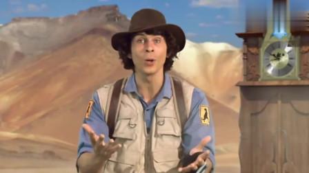 安迪的恐龙冒险,男子穿越回到6千5百万年前,全是翼龙在天空飞