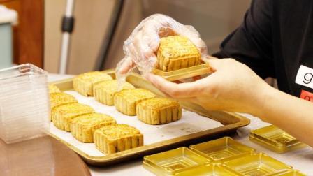 最详细的豆沙月饼制作讲解,做法实际很简单,比买的月饼好吃放心