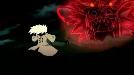 火影忍者最燃情节 凯VS斑 差点踢出个结局的男人!