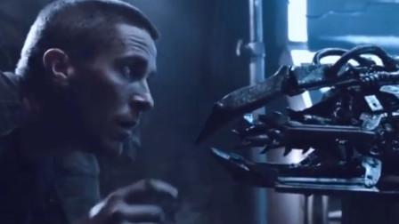 终结者机器人火力凶猛,却被小伙设置的陷阱干掉,但引来了猎杀者!