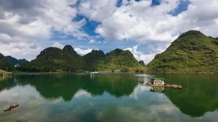 广西一神秘湖泊,一夜之间突然出现,一个月后又离奇消失!