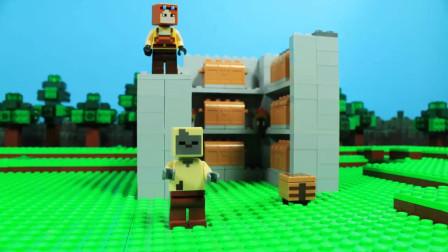 我的世界动画-乐高菜鸟挑战乐高高手-Titan Pictures