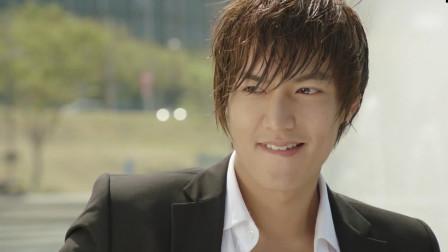 韩国明星经典桥段 城市猎人的李敏镐实在太帅,慈祥暖男一面也很帅