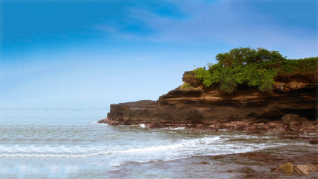 大海为何会涨潮和退潮,退潮的水退回哪里去了呢?今天算长见识了