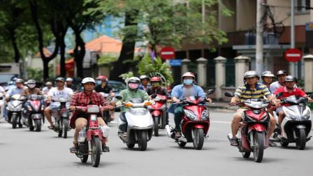 日本生产的摩托车,在越南的份额占到了多少?今天算长见识了
