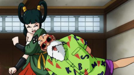 龙珠英雄:扮猪吃老虎的两个龙珠战士,龟仙人秒变光头猛男!