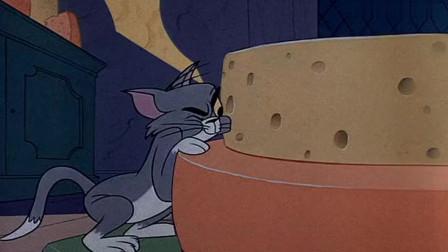 猫和老鼠:杰瑞真会享受,在奶酪里面建房子,这房子又能吃又能睡