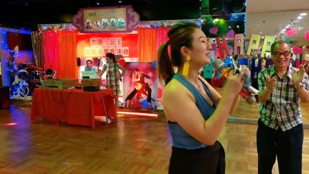 香港三公主心怡《公虾米》扭起来,女人味十足