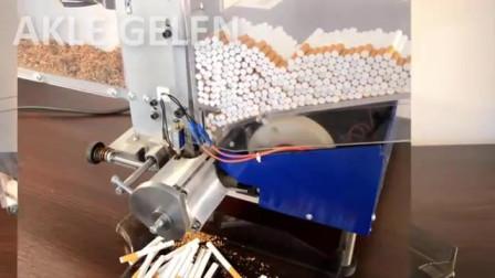 香烟制作过程太令人惊奇了,带你走进制作工厂一探究竟