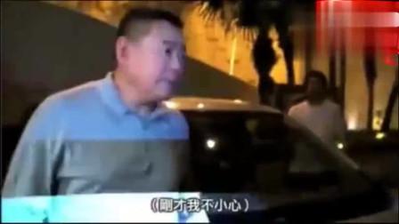 记者拍摄时不小心刮花车玻璃,香港富豪刘銮雄:立刻下车发怒