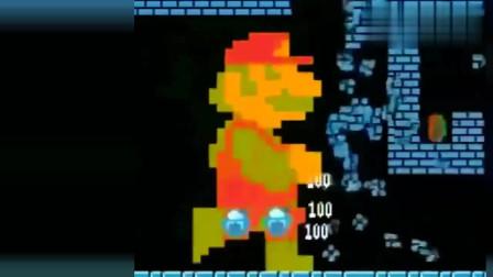 超级玛丽——马里奥吃了大蘑菇,变成了巨人,这关过的,太爽了!