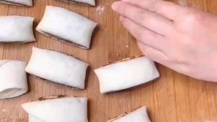 教你做红糖麻酱花卷,香甜松软,浓香四溢,讲解很详细!