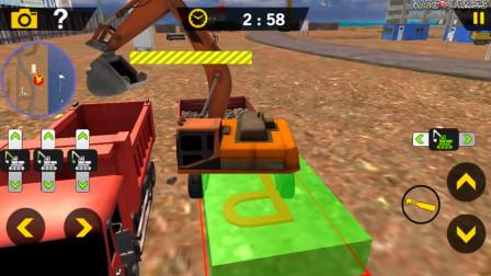 挖掘机建造模拟器019建筑之家城市安卓游戏