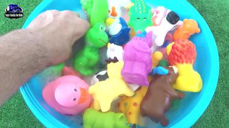 为儿童学习野生动物园动物为儿童学习动物名称教育玩具