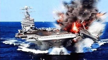 """海湾突传""""噩耗"""",美航母再出事故,上千万打了水漂"""
