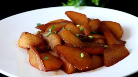 白萝卜别只会炖汤,教你红烧白萝卜的做法,比吃肉香