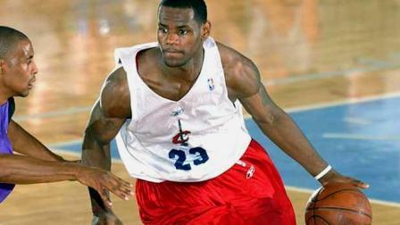 NBA各大球星夏季联赛的超珍贵集锦!那时超巨们也才20岁左右