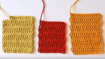 编织小技巧系列,长针织片边缘处理技巧,使你的编织作品更完美