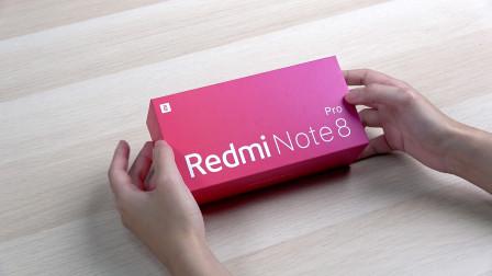 Redmi Note 8 Pro开箱:6400W四摄拍照表现亮眼