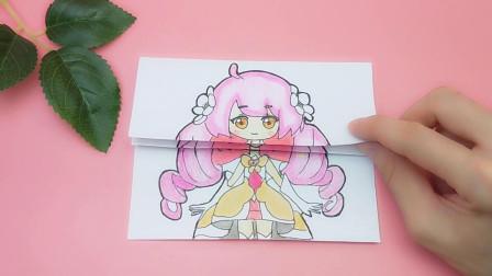 给小花仙手绘小爱三次整容长相,画法简单有趣,漂亮女生很喜欢