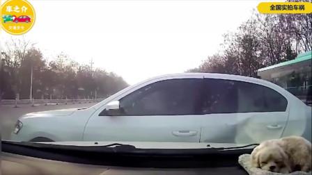 高速上的害人精,突然连夸3车道,害人害己!