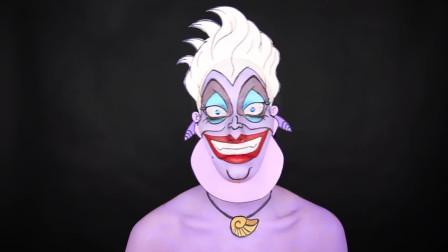 美女厄秀拉仿妆卡通呆萌,小朋友都叫好!好可爱的妆容啊