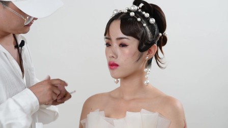 零基础学化妆山东化妆培训学校王磊老师脏脏唇化妆技巧分享
