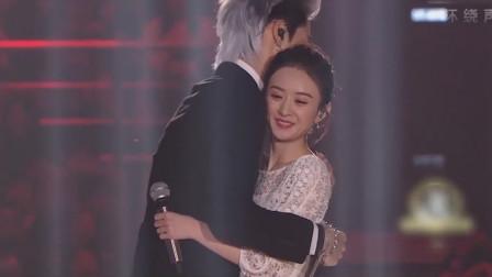 我天!赵丽颖终于复出了,与他对唱如此肉麻的歌,冯绍峰该吃醋了