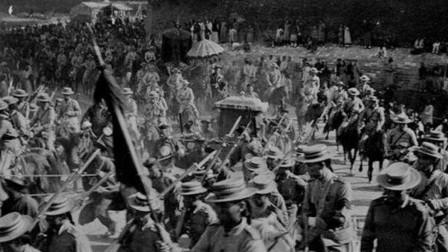 清末老照片:慈禧西逃回銮时的衰落之景,镜头下李鸿章向联军求和