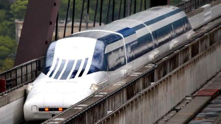 磁悬浮列车为何那么快,老外做出模拟实验,看完才知道