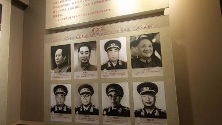 贵州遵义会议会址纪念馆,20位军事家,毛周在第一第二位