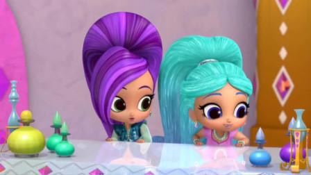 萌萌哒萨米拉和席塔小时候 好可爱!亮亮和晶晶游戏