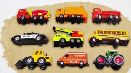 最新挖掘机视频表演36340大卡车运输挖土机+挖机工作+工程车