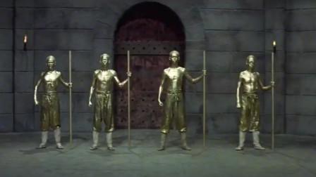 少林铜人阵:铜皮铁骨存佛心,生来往凭功力,闯阵者九一生