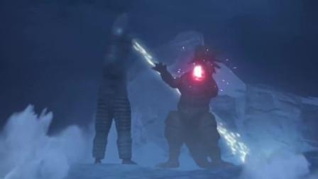 大怪兽之战:怪物大战,还有初代奥特曼和赛文奥特曼出现,厉害了