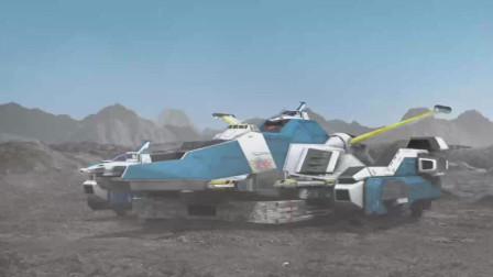 大怪兽之战:雷看着战斗仪和哥莫拉它们说话,它们很高兴的回应雷