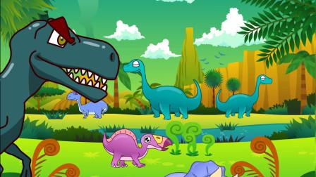 亲宝恐龙儿歌-恐龙化石歌 小朋友都知道什么恐龙的化石呢