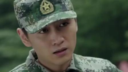 陆战之王:男兵对着女兵说粗话,怎料一看女兵肩上的徽章,立马怂了!