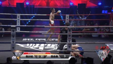 日本悍将出场霸气嚣张,结果三回合被吉夺依布打回原形KO获胜