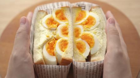 东京人气咖啡店的魔鬼蛋三明治,看起来就不难的亚子,保你吃得渣都不剩