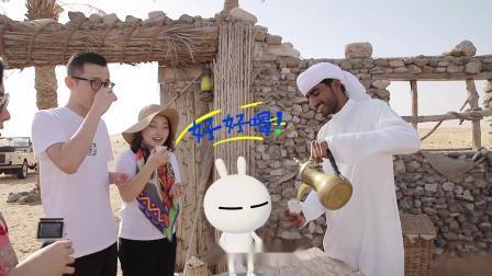 兔斯基穿越迪拜沙漠