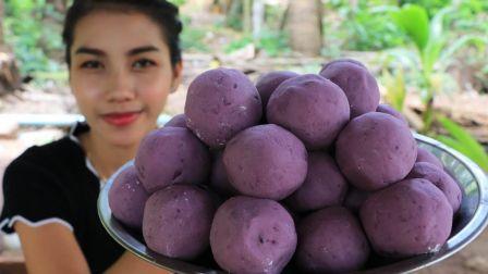 - 柬埔寨乡村女孩 - 美味的油炸土豆球和美味的比萨饼食谱两则合辑(2019.8.14)