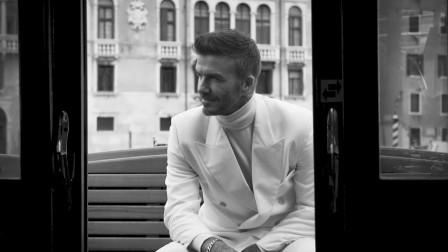 【猴姆独家】帅爆表!小贝#贝克汉姆#为英国《GQ》杂志拍摄写真幕后曝光