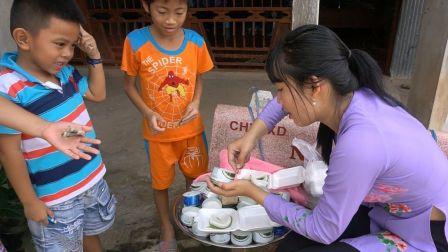- 越南西部美食渔家人系列 - 青蛙蛋糕和男士餐两则合辑(2019.8.3)